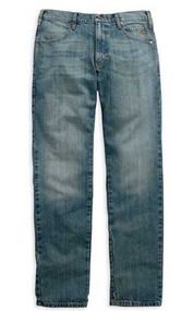 Harley-Davidson® Men's Modern Straight Jeans Light Wash, Denim. 99003-15VM