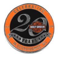 Harley-Davidson Wisconsin Dealership Challenge Coin Celebrating 20 Years WHDCOIN - Wisconsin Harley-Davidson