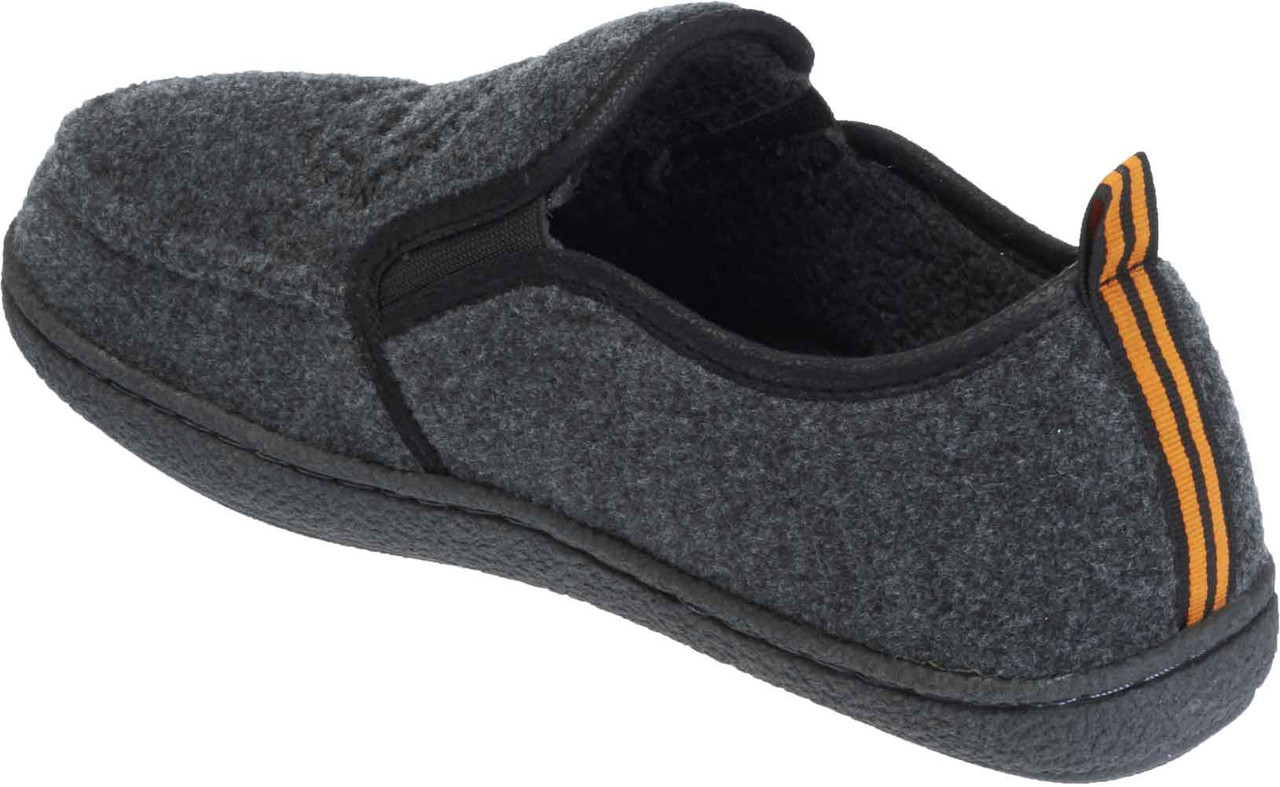 618588a18c4387 Harley-Davidson Men s Caleb Black and Grey House Slippers. D93305 - No  Hassle Returns. See 2 more pictures