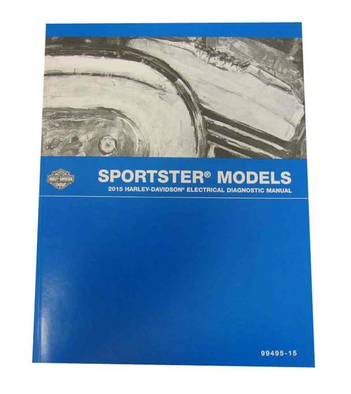 Harley-Davidson 2011 Sportster Models Electrical Diagnostic Manual 99495-11 - Wisconsin Harley-Davidson