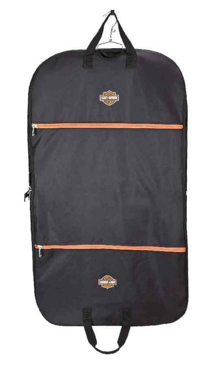 Harley-Davidson Expandable Zippered Garment Carrier, Lightweight & Strong 99105 - Wisconsin Harley-Davidson