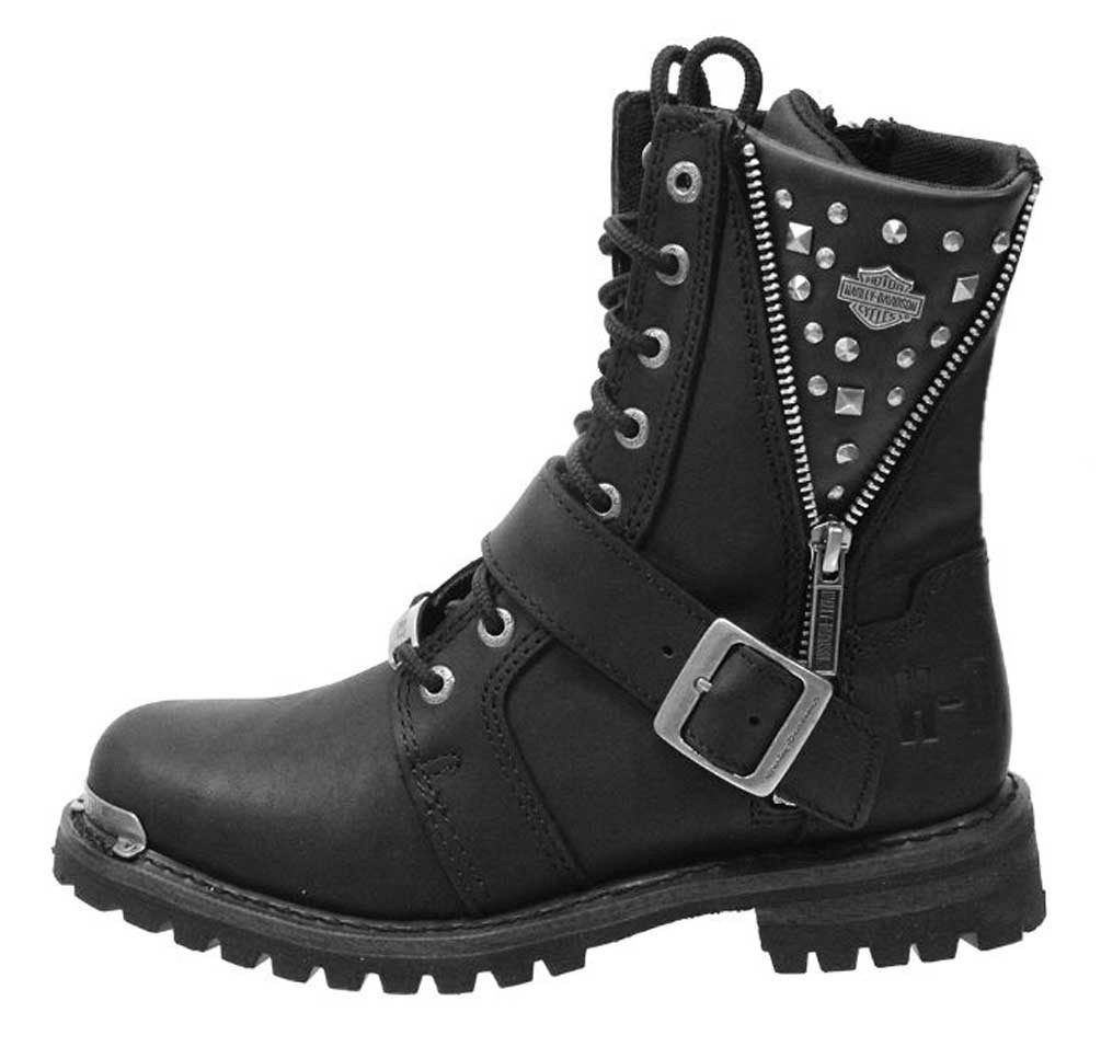 fa824c78775b Harley-Davidson® Women s Mindy 6.5-Inch Black Motorcycle Boots ...