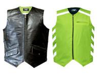 Missing Link Mens Hi-Vis DOC Reversible Safety Vest - Green DOCMG - Wisconsin Harley-Davidson