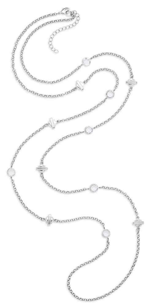 Harley-Davidson® Women s Rhinestone Bar   Shield Wrap Necklace ... ea96c0de12