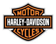 Harley-Davidson Decal, Orange Bar & Shield Logo, X-Large 29 x 37 Inch CG4310 - Wisconsin Harley-Davidson