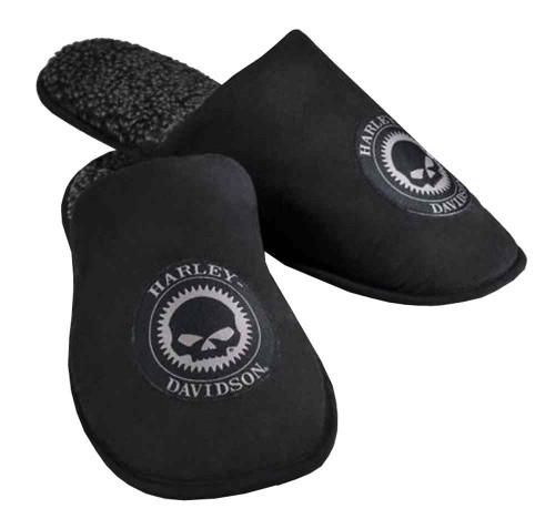 8f8c7be83d0 Harley-Davidson® Men s Willie G Skull Slip-On Slippers