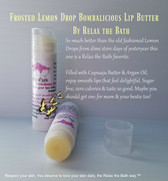 Frosted Lemon Drop Lip Butter