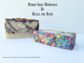 Mardi Gras Morning Bath Bar