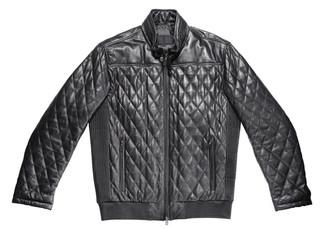 Men's Style Black Leather Jacket