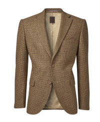 Mens Brown Blazer Jacket