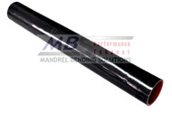 2' Black Silicone Straight Hose (Coupler)