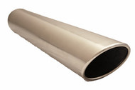 """3.5"""" Stainless Steel/Rolled Edge"""