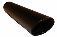 """3.5"""" Black Vein Coated/Rolled Edge"""