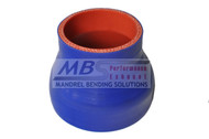5-ply Hi-Performance Blue Silicone Hose (Coupler) Reducer