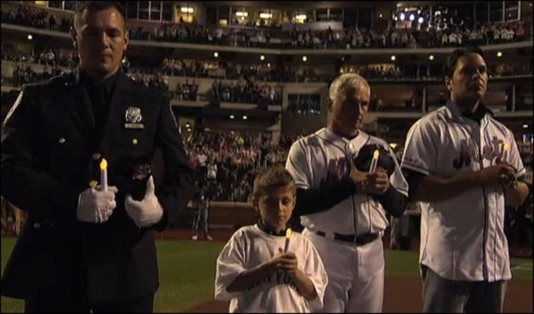 Mets 911 Pregame Ceremony