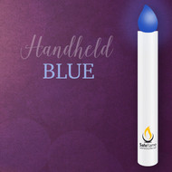 Safe Flame Blue HandHeld Vigil Candles