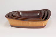 Cook on Clay Square Baker Nested Set, Tuscan Gold