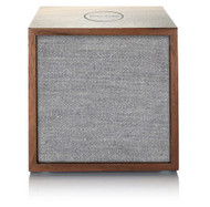 Tivoli Audio Cube Bluetooth Speaker, Walnut/Grey