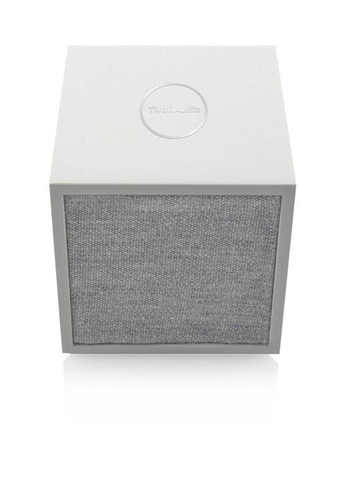 Tivoli Audio Cube Bluetooth Speaker - White/Grey