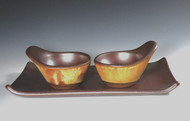 Cook on Clay Stovetop Bowl, Tuscan Gold