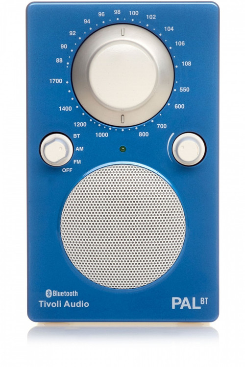 Tivoli Audio - PAL BT Bluetooth Radio - Blue