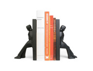 Leaning Men Bookends by Kikkerland Design