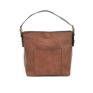 Classic Hobo Handbag Cognac