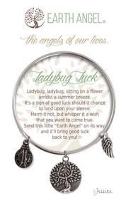 Ladybug Luck Charm Bracelet