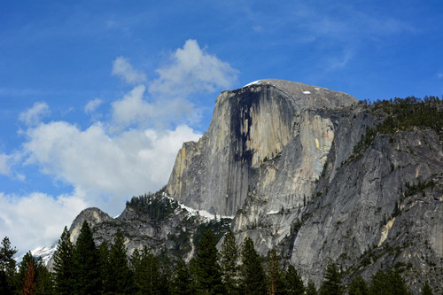 'Half Dome at Yosemite Valley'  by Glenn Hathaway, digital photo on canvas