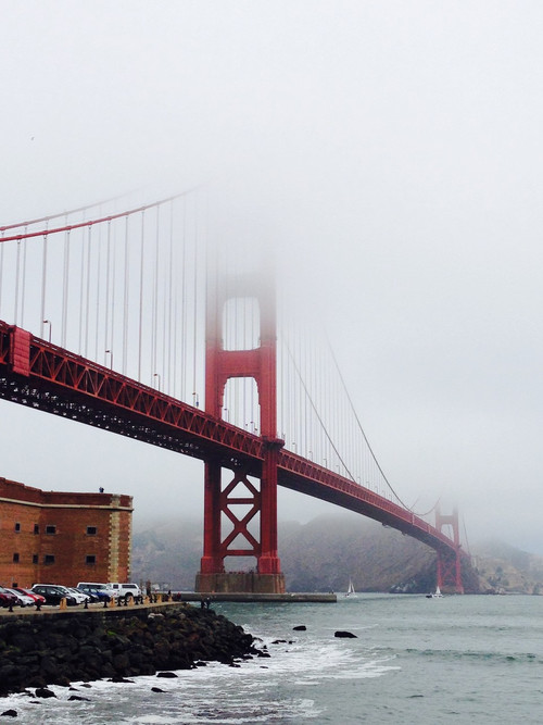 'Golden Gate Bridge in Fog' - Glenn Hathaway