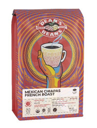 Dean's Beans Mexican Chiapas French Roast - 1lb Whole Bean