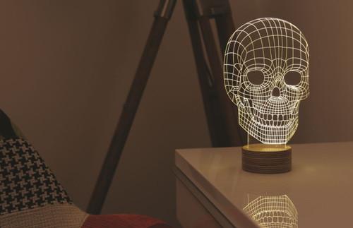 Studio Cheha BULBING® lamp - #Skull