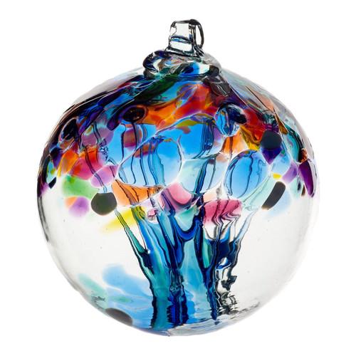 "6"" Tree of Enchantment - Tree of Caring - Kitras Art Glass"