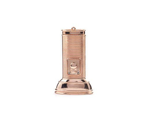 Copper Flat Flashlight by Kikkerland
