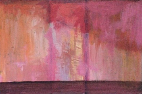'Medieval Twilight' by Artist Justin McGonigle, Acrylic on Canvas