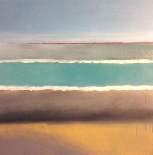 'Horseneck Beach' by Artist Justin McGonigle, Acrylic on Canvas