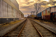 'Down The Tracks' - Christopher Di Nunzio