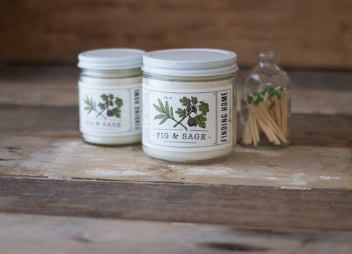 Finding Home Farm Fig & Sage Soy Candle – 7.5 oz.