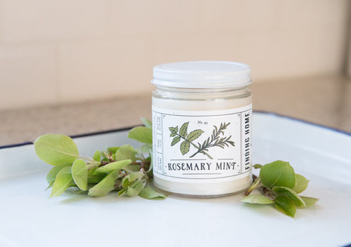 Finding Home Farms Rosemary Mint Soy Candle – 7.5 oz.