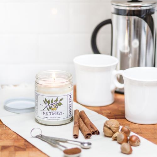 Finding Home Farm Nutmeg Soy Candle – 7.5 oz.