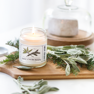 Finding Home Farm Sage Evergreen Soy Candle – 7.5 oz.