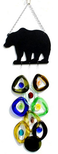 Metal Top Chime 'Bear' - Bottle Benders