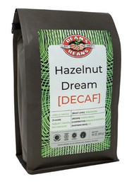 Dean's Beans Hazelnut Dream Decaf - 1lb Whole Bean