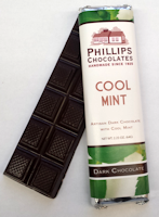 Phillips Chocolates Cool Mint Dark Chocolate Bar
