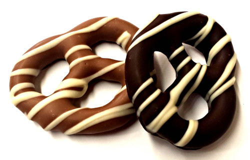 Phillips Chocolates Large Chocolate Covered Pretzels, 2-Pack Milk