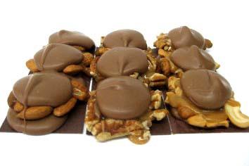 Phillips Chocolates Turtle Bar - Milk Chocolate Cashew