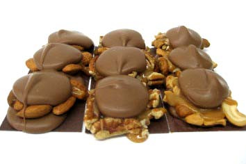 Phillips Chocolates Turtle Bar - Dark Chocolate Almond