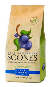 Sticky Fingers Bakeries Wild Blueberry Scone Mix