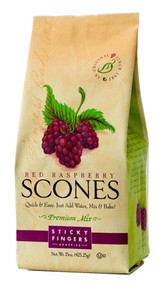 Sticky Fingers Bakeries Red Raspberry Scone Mix