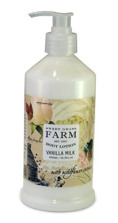 Sweet Grass Farms Vanilla Milk Lotion - Meadow Collection